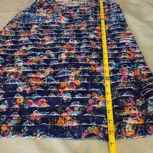 Free People Dresses - Free People Navy Ruffled Dress